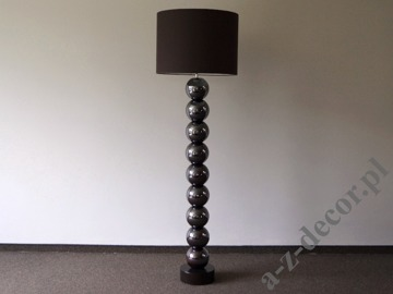 PERLA IX iris brown floor lamp 50x170cm [AZ02492]