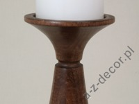 Pillar candle holder 12,5x38cm [AZ01538]