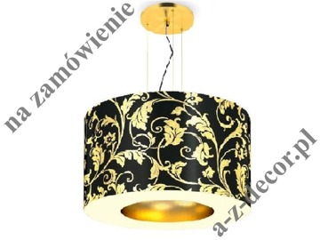 RING Royal Black-Gold suspension 90x65-165cm [2542]
