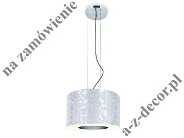 RING Royal White-Silver suspension 50x35-135cm [2528]
