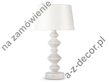 ROLL NATURA white bedroom lamp 25x45cm [241]