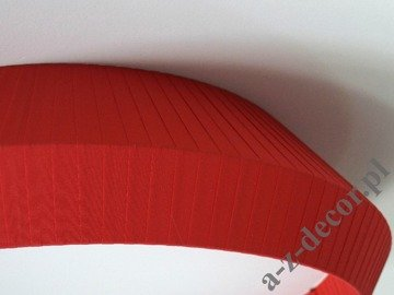 Red OVNI plafond 70x20cm with diffuser [AZ02635]