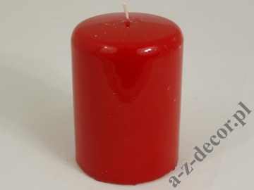 Red pillar candle 7x10cm [AZ01767]