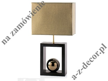 SCALA wooden table lamp 30x15x54cm