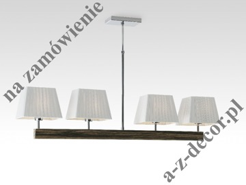 SMOOTH EBANO ceiling lamp 112x50-80cm [002510]