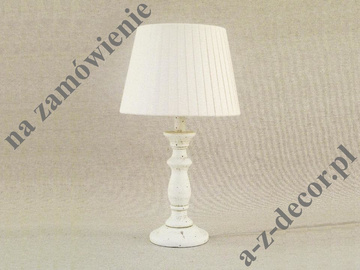 TURN RUSTICO white bedroom lamp 25x45cm [301]