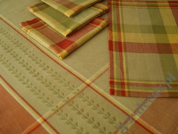 Table cloth 150x150cm + 4 napkins [AZ00165]